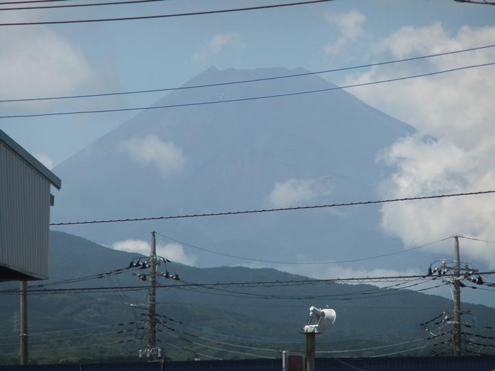 土用の丑の日と富士山