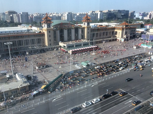 中国の北京、ハルビンへ