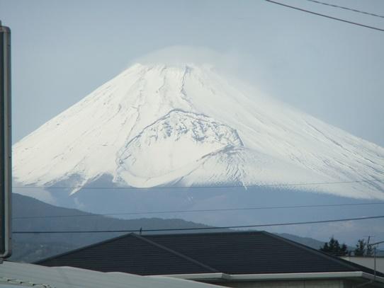 冬至と富士山