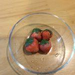 桃味のいちご
