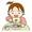子供の口の周りの赤み(口周囲炎)