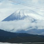 富士山2019初冠雪