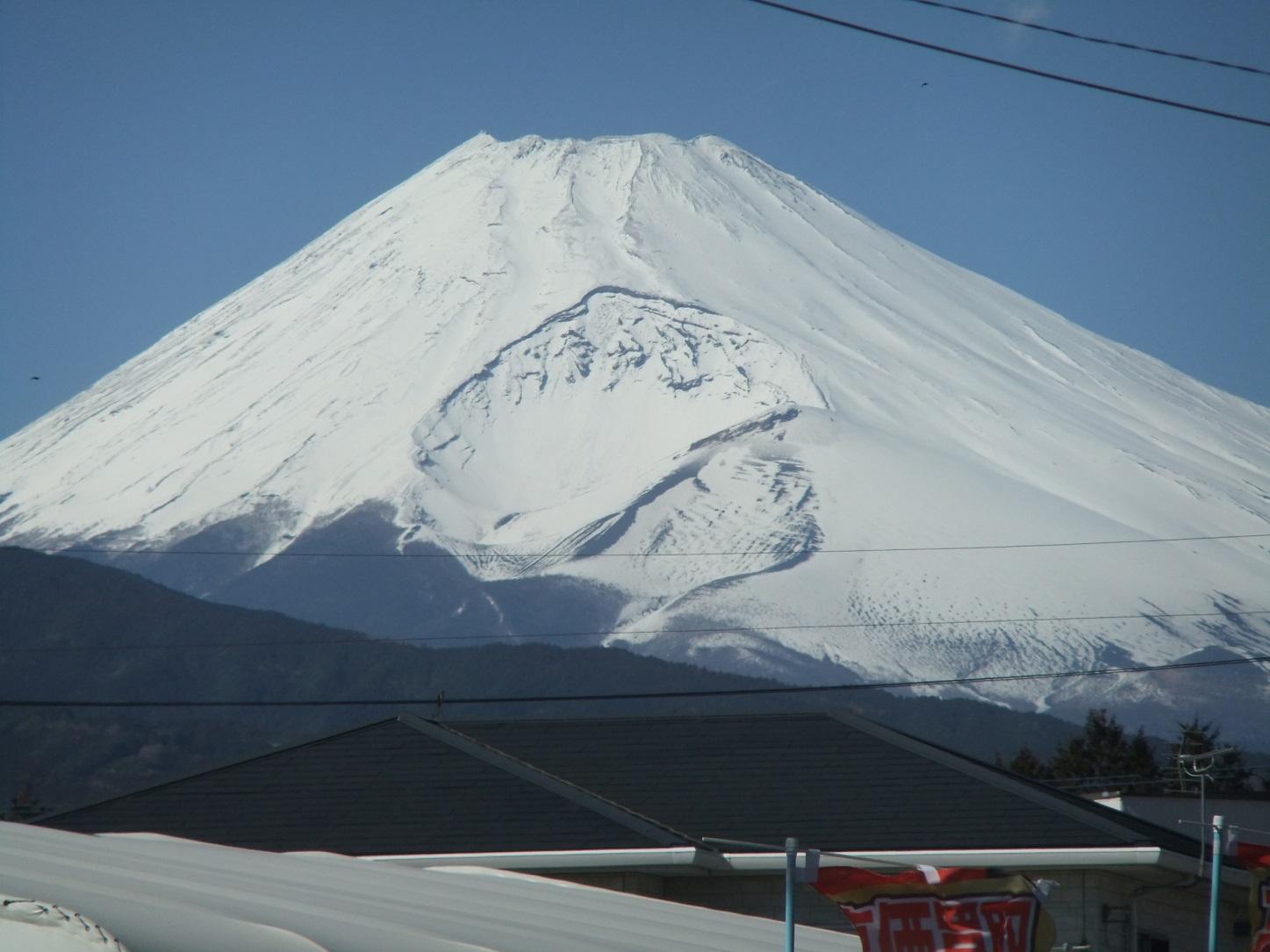 富士山を見ながら、防災を考える