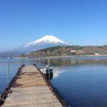 山中湖から富士山