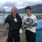芦ノ湖でワカサギ釣り